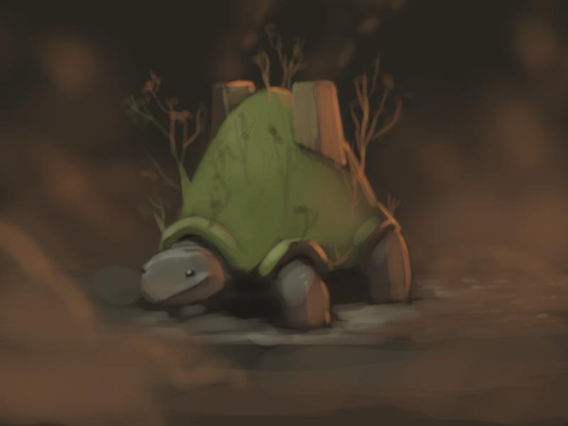 Tortuga-chan by Zalogon