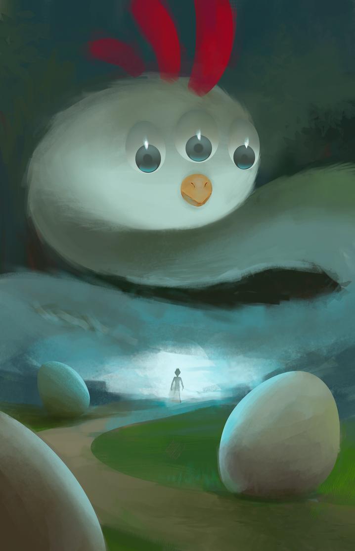 Mystical Chicken by Zalogon