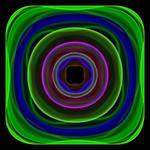 Neon Swirl