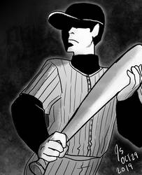 Inktober Day 29-The Batter from OFF
