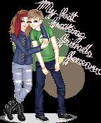 Maria and Alvaro by LineBorowski