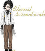 Edward Scissorhands by LineBorowski