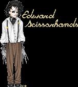Edward Scissorhands by LineBorowski