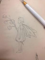 Fairy on the desk