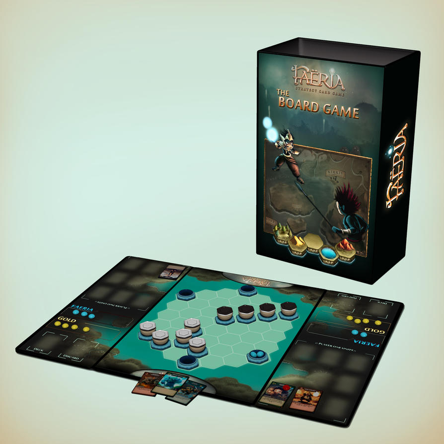 Faeria Tactical TCG: Physical Version WIP by Requiemsvoid on ...