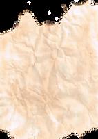 Burnt Grunge Paper 2 - Transparent PNG by GreenHammock