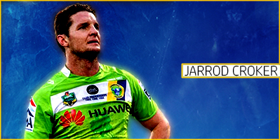 Canberra Raiders - Jarrod Croker by GreenHammock