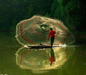 Fisherman's Web by yuniarko