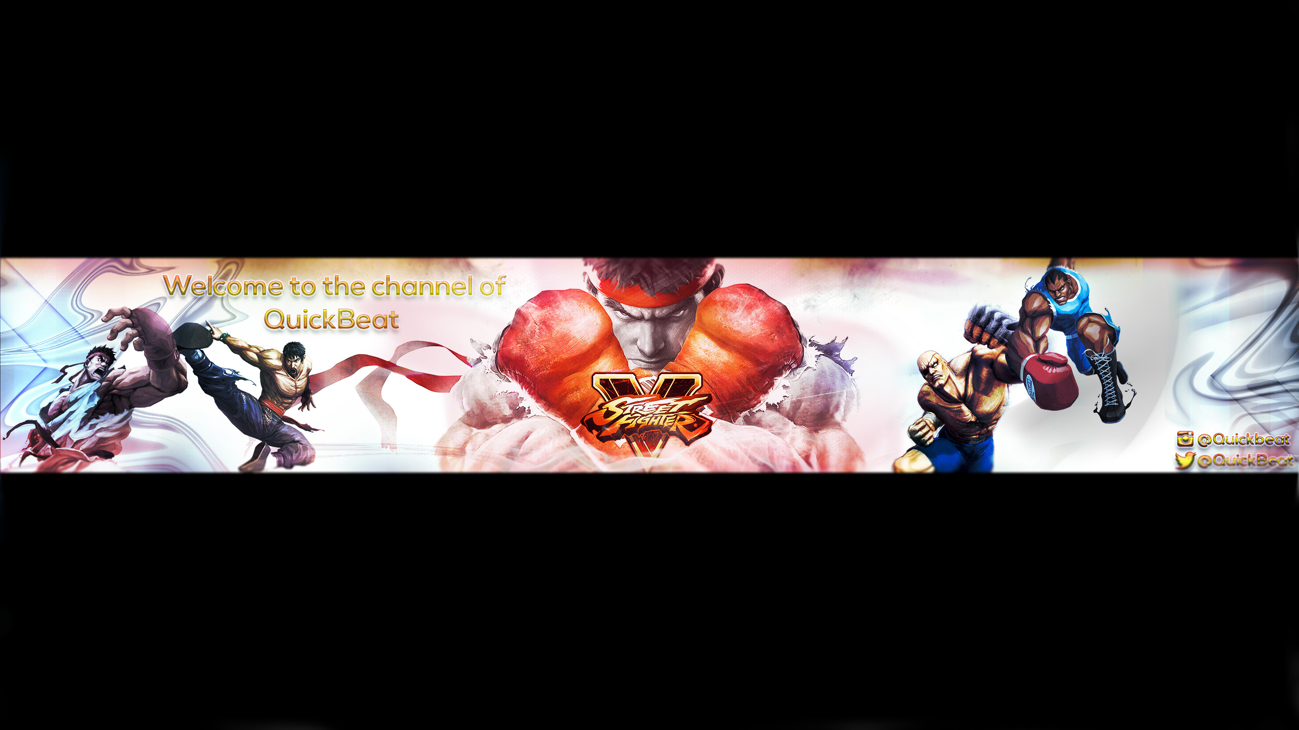 Street fighter 5 youtube banner by QuickBeat on DeviantArt
