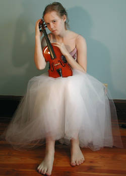 Sitting with Violin
