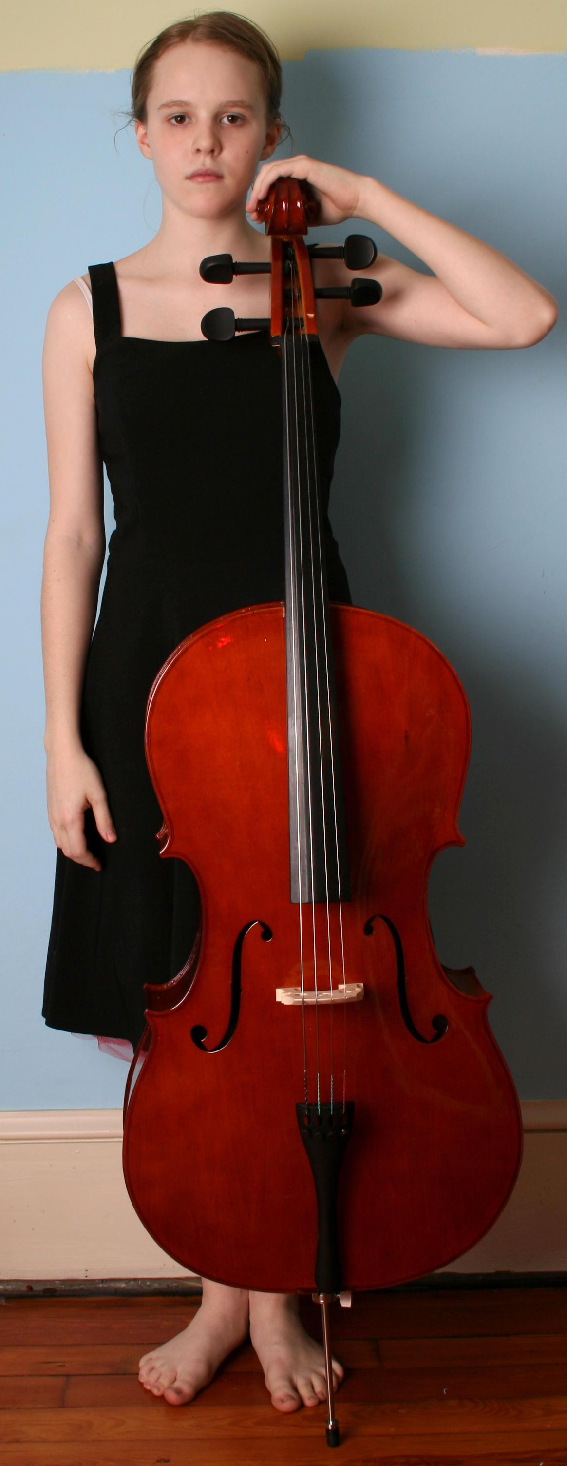 Cello 2 by AttempteStock
