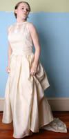 Wedding Dress 1 by AttempteStock