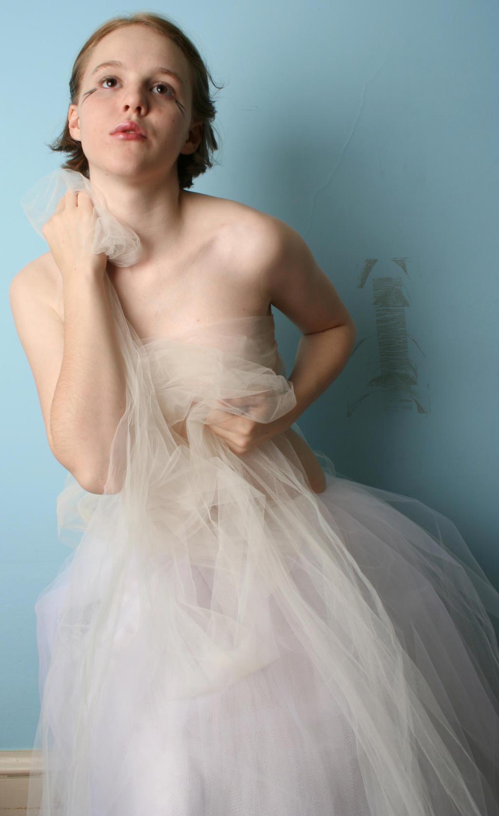dramatic ballerina by AttempteStock