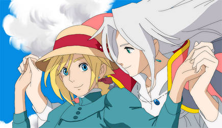 + Sephiroth's moving castle +