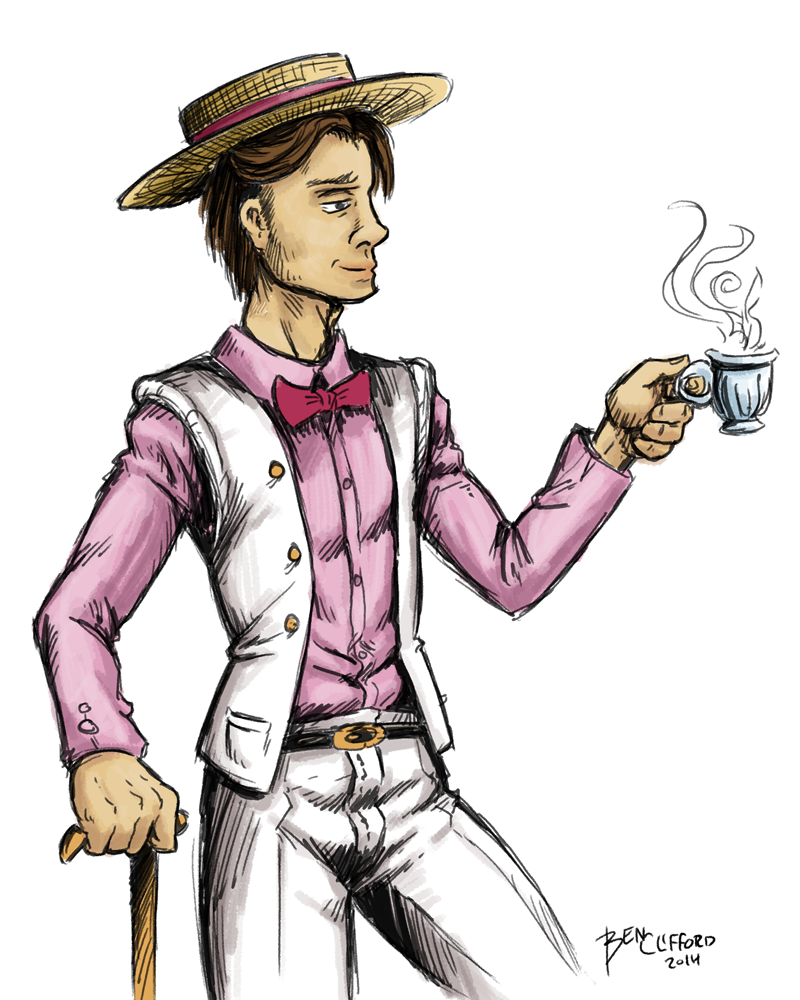 Dandy Man Sasha by The-BenT-One