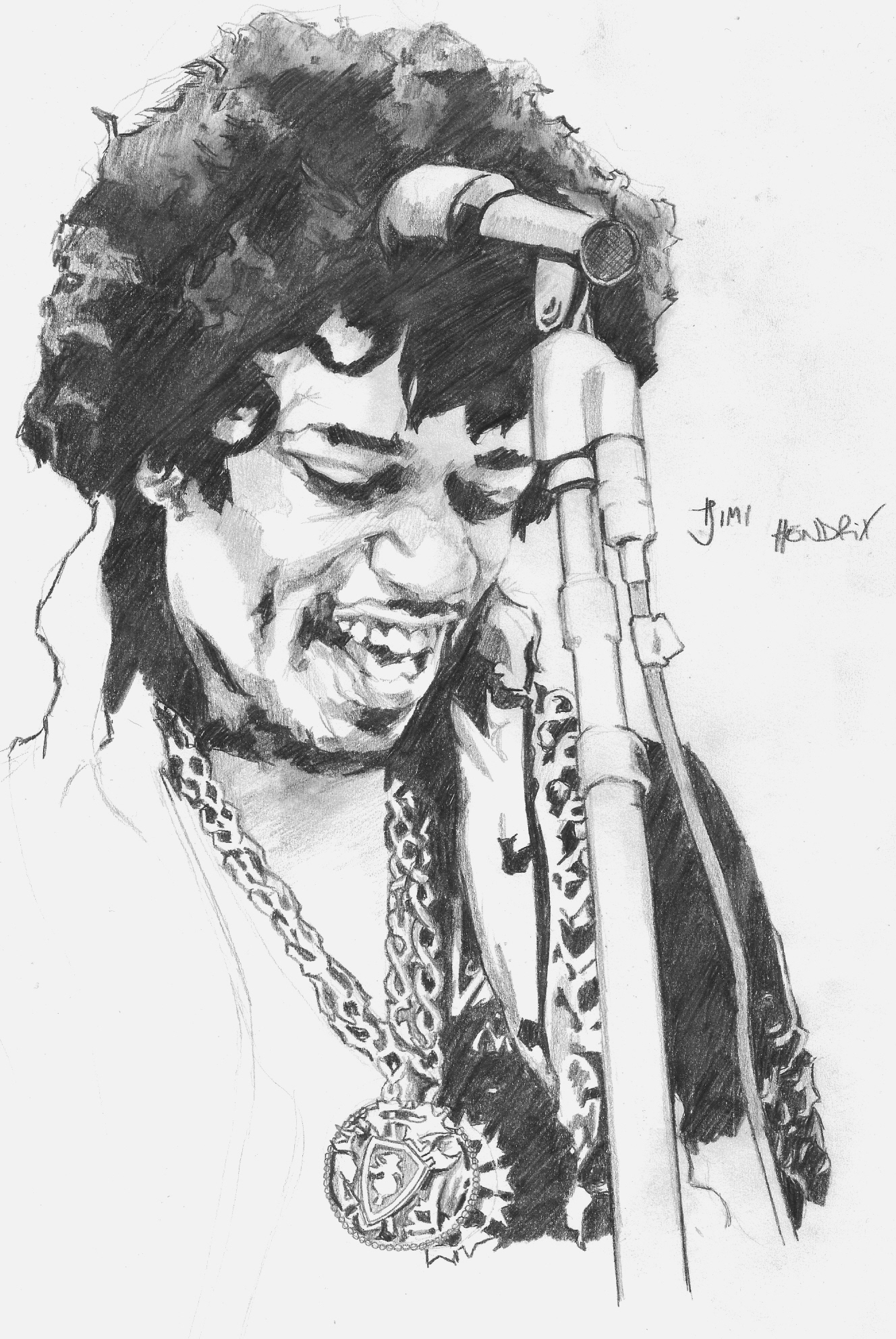 jimi hendrix jimi hendrix by al3va traditional art drawings portraits figures 2008