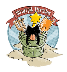 Sandpit Pirates by nekomeandon