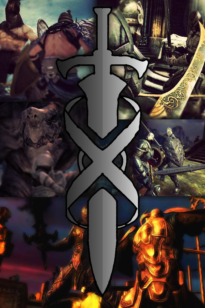 Infinity Blade Wallpaper (iPhone/iPod Touch) by RicochetOrange