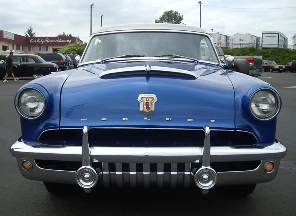 Car Stock - 1952 Mercury - Front