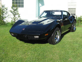 Car Stock - 1976 Corvette