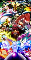 Every Legendary Pokemon (2012)