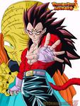 MAJIN VEGETA SSJ4 (Dragon Ball Heroes)