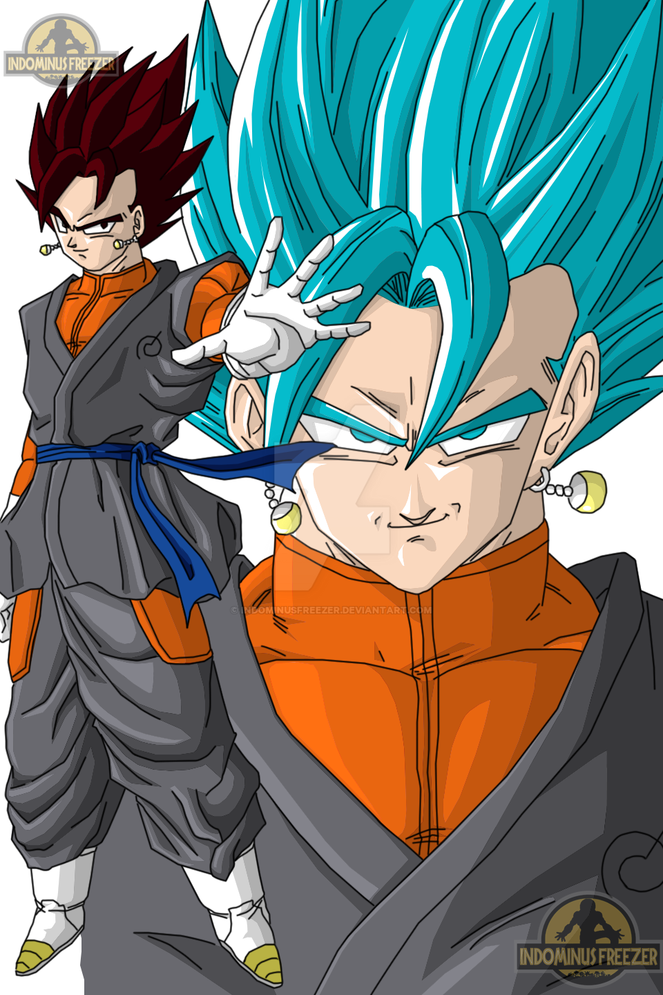 [Model Con Amxx] Vegetto Fukkatsu No F by gonza_esf  - Página 3 Vegetto_ssjgb_indominus_freezer_by_indominusfreezer-daahz0r