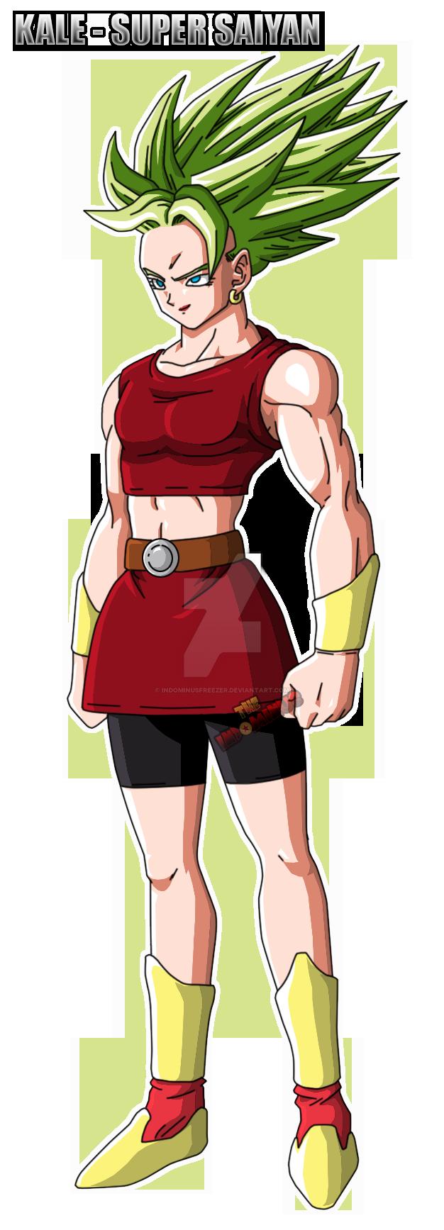 Kale Super Saiyan Dragon Ball Super By Indominusfreezer On Deviantart