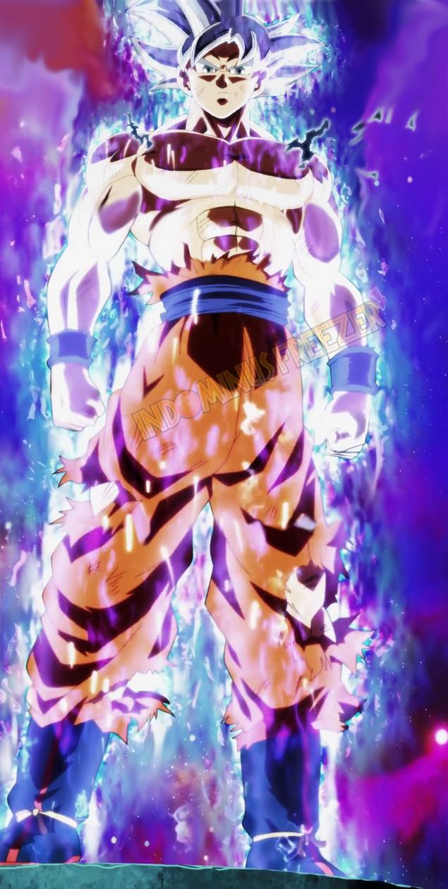 Goku ultra instinct perfect v 1 by indominusfreezer on - Goku ultra instinct mastered wallpaper ...