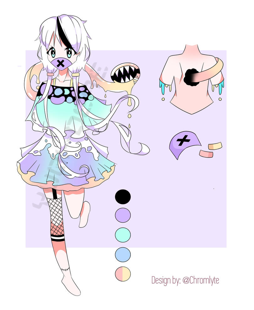 pastel gore adopts by - photo #6