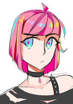 [+SPEEDPAINT] Colored doodle . 1
