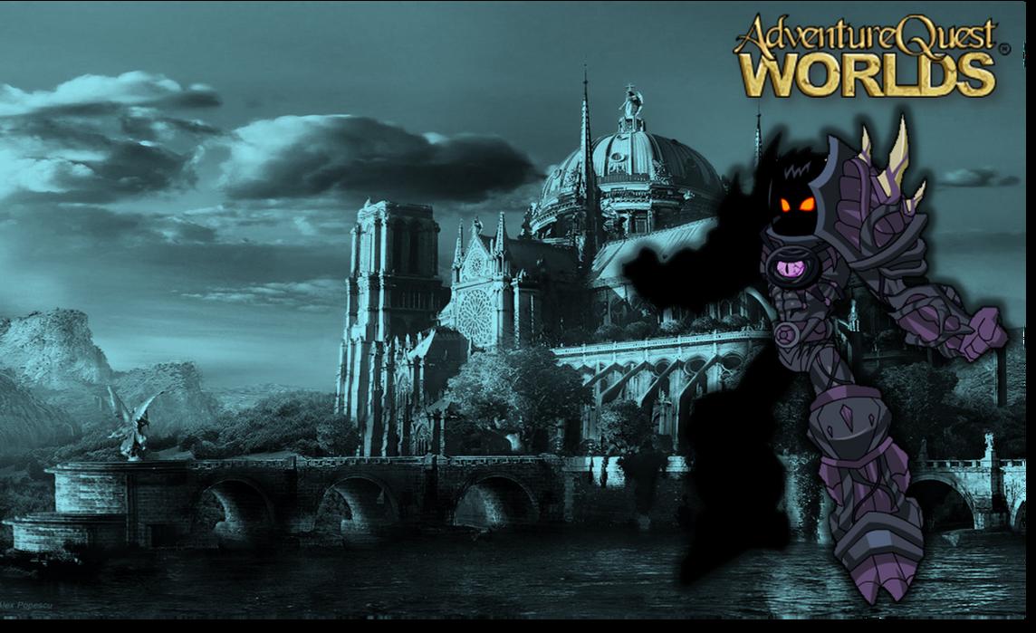 AdventureQuest Worlds   AQW - Wallpaper  Drakath  by LalbielAdventure Quest Worlds Drakath