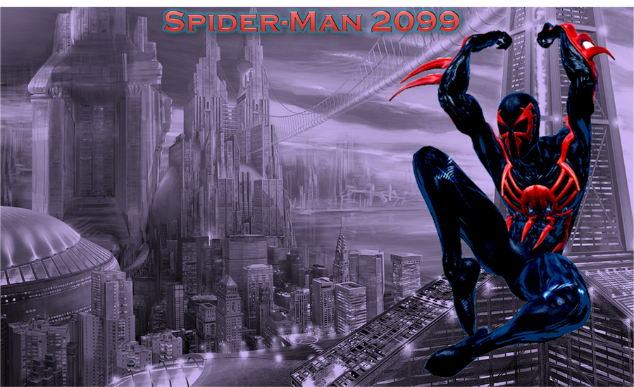 Cool Spiderman 2099 Wallpaper: Wallpaper For Desktop By Lalbiel On