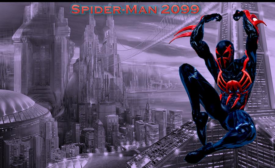 Spider Man 2099 Wallpaper On Wallpaperget Com: Wallpaper For Desktop By Lalbiel On