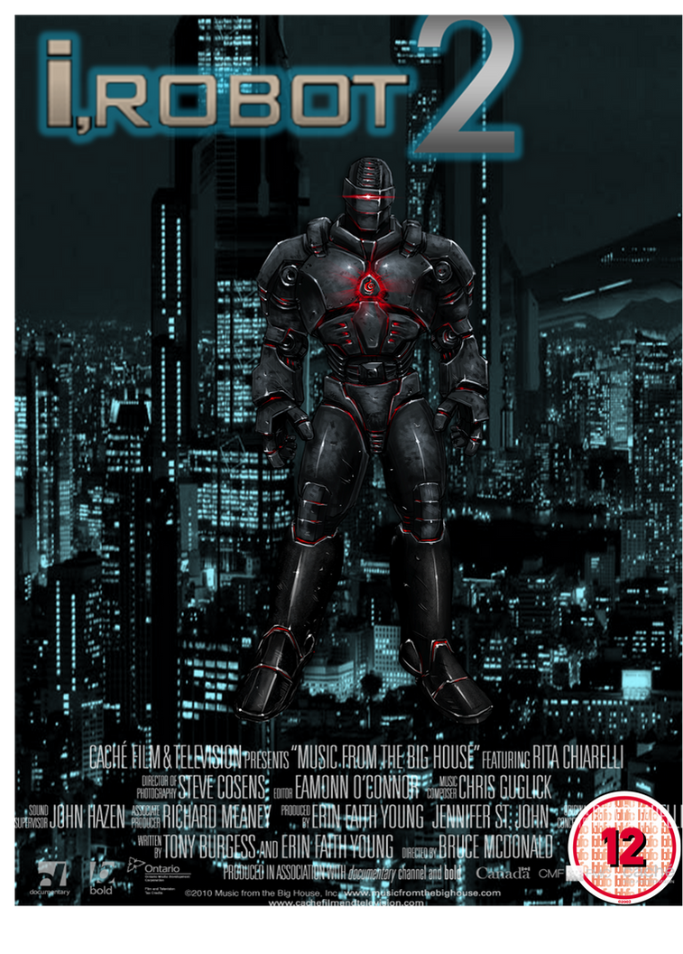 i robot 2 movie poster by lalbiel on deviantart. Black Bedroom Furniture Sets. Home Design Ideas
