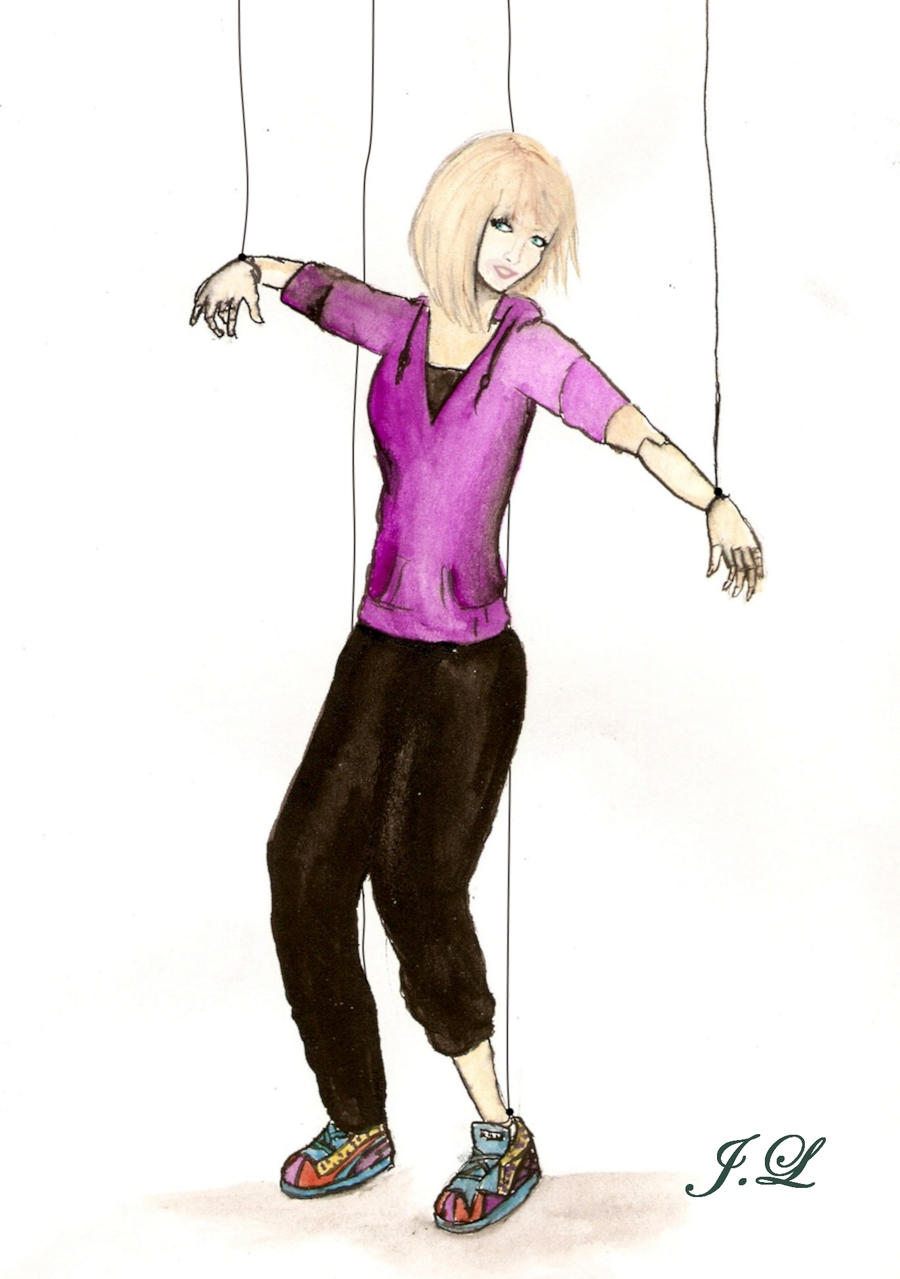 puppet dance colour by snakegirl94