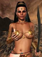 DEJAH THORIS: The Princess of Mars by Furbs3D