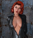 BLACK WIDOW: Lesson #1 - Luring the enemy