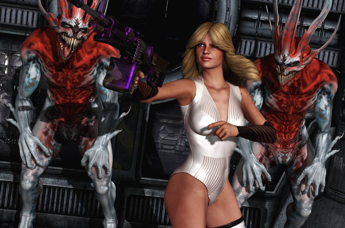 BARBARELLA: Alien Slayer by Furbs3D