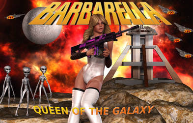 BARBARELLA: Queen of the Galaxy by Furbs3D