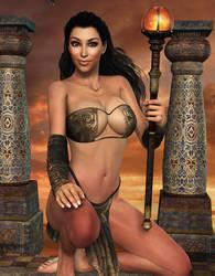 NEW PRIESTESS! From the Temple of Kar-Da-Xhian by Furbs3D