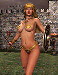 MISTY: The Golden Warrioress