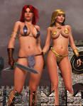 MISTY / RED SONJA: Travellers of Hyboria