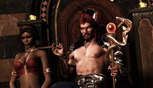 JASMINE AND JAFAR: In the Name of Iblis!