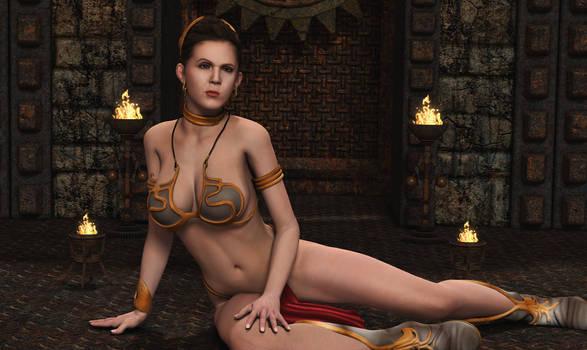 LEIA ORGANA: Slave Pinup (2)