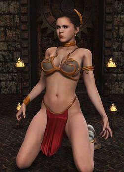 LEIA ORGANA: Slave Pinup (1)