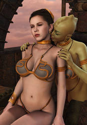 PRINCESS LEIA: Massage (2)