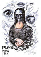 Farewell, Mona Lisa by Angel6fdeath