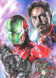 The Iron Man by Angel6fdeath
