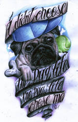 The Pug Life by Angel6fdeath